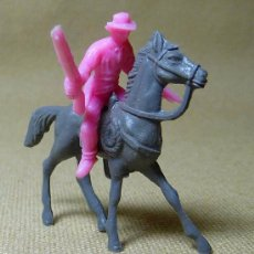 Figuras de Goma y PVC: FIGURA DE PLASTICO, COW BOY, VAQUERO, MINI OESTE, MINI COMANSI, COMANSI, 1970S. Lote 21729466