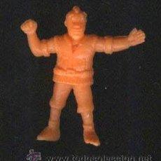 Figuras de Goma y PVC: FIGURA DE JORD DUSAT NARANJA EWOKS Y DROIDS PANRICO AÑOS 80. Lote 21753079