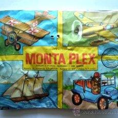 Figuras de Goma y PVC: SOBRE MONTAPLEX Nº 405 MODELOS A ESCALA - SOBRE CERRADO. Lote 122671555