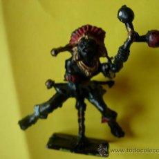Figuras de Borracha e PVC: CHERILEA BRUJO AFRICANO PLASTICO 6CM. Lote 25403953