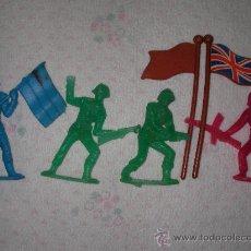 Figuras de Goma y PVC: ANTIGUOS SOLDADOS GUERRA MUNDIAL . Lote 21954317