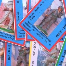 Figuras de Goma y PVC: PRECIOSAS FICHAS CLASIFICATORIAS DE. Lote 213356942