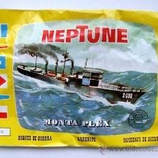 Figuras de Goma y PVC: SOBRE MONTAPLEX Nº 430 BUQUE DE GUERRA NEPTUNE - SOBRE CERRADO. Lote 50407462