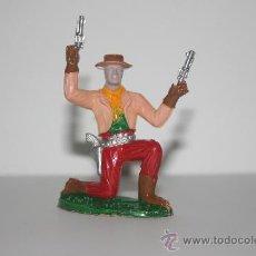Figuras de Goma y PVC: FIGURA DE PLASTICO OESTE VINTAGE - SOTORRES. Lote 26764312