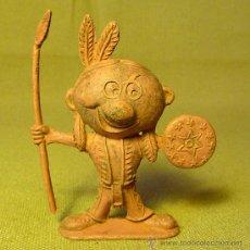 Figuras de Goma y PVC: PREMIUM FANTA, COCA COLA, , FIGURA PLASTICO, INDIO CARICATURESCO, 6 CM. Lote 22536167