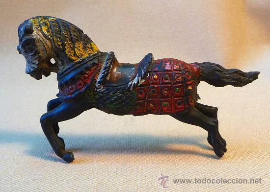 Figuras de Goma y PVC: FIGURA DE GOMA, CABALLO, 50s, FABRICADO POR REAMSA - Foto 2 - 22787424