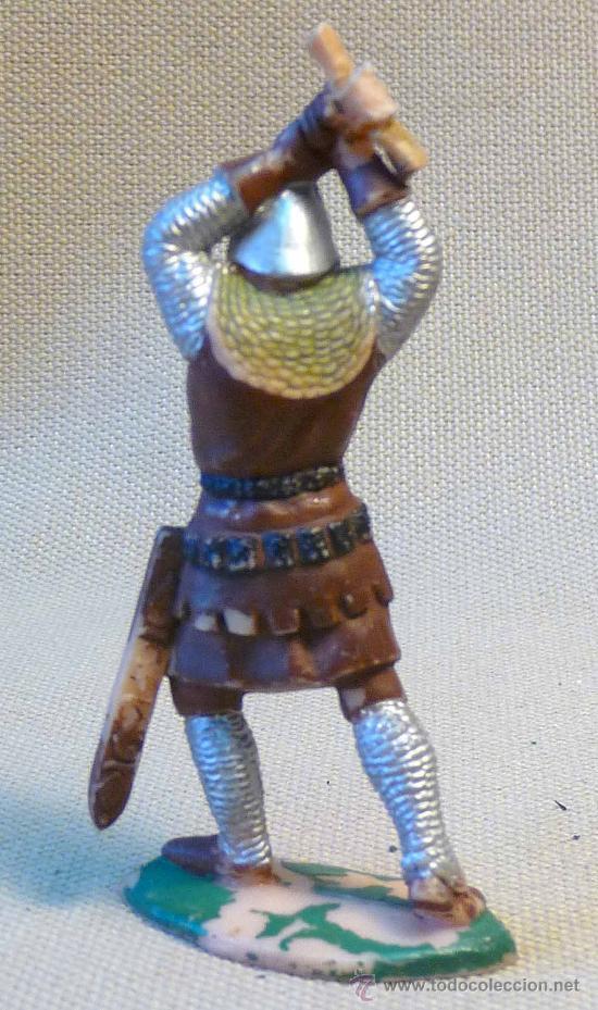 Figuras de Goma y PVC: FIGURA DE PLASTICO, SOLDADO MEDIEVAL, FABRICADA POR REAMSA, 70s, - Foto 2 - 22780586