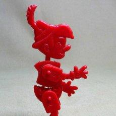 Figuras de Goma y PVC: PREMIUM DETERGENTE OMO, FIGURA DE PLASTICO, ARTICULADO, 1960S. Lote 22867812