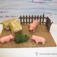 Figuras de Goma y PVC: BELEN, PESEBRE - LOTE ANIMALES PESEBRE - LOTE ANIMALES GRANJA. Lote 26554492