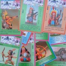 Figuras de Goma y PVC: FICHAS CLASIFICATORIAS SERIE BUYBIS PIEL ROJITAS DE JECSAN. Lote 260790510