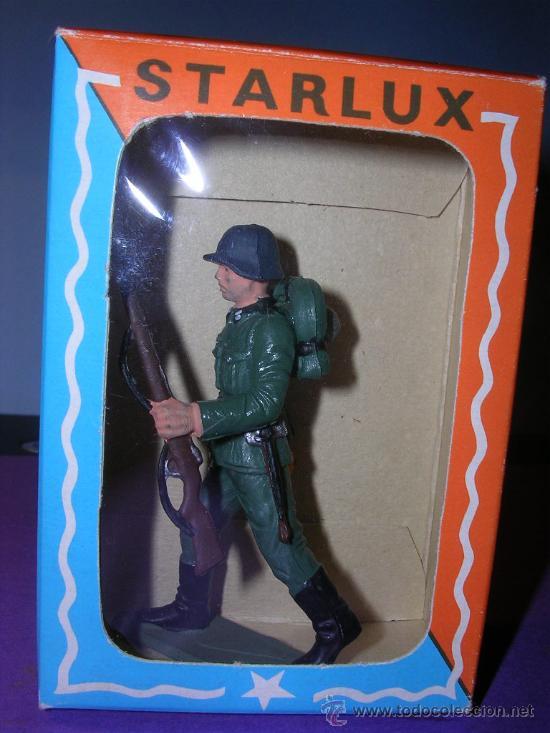 Figuras de Goma y PVC: STARLUX AÑOS 60 SOLDADO ALEMAN EN SU CAJA ORIGINAL - Foto 5 - 26554836
