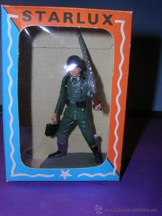 Figuras de Goma y PVC: STARLUX AÑOS 60 SOLDADO ALEMAN EN SU CAJA ORIGINAL - Foto 4 - 26554837