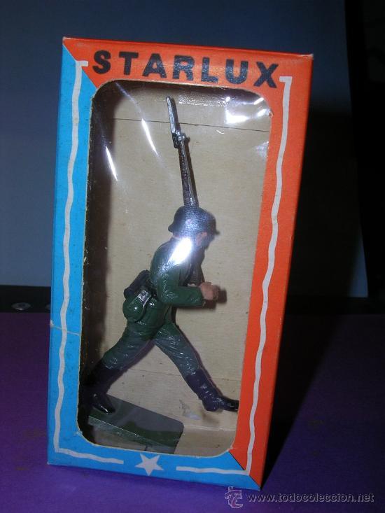 Figuras de Goma y PVC: STARLUX AÑOS 60 SOLDADO ALEMAN EN SU CAJA ORIGINAL - Foto 5 - 26554838