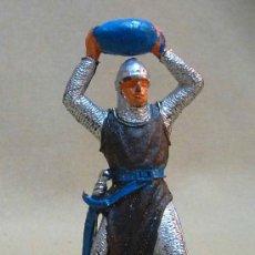 Figuras de Goma y PVC: FIGURA DE PLASTICO, MEDIEVAL, FABRICADO POR JECSAN, 1970S. Lote 23946014