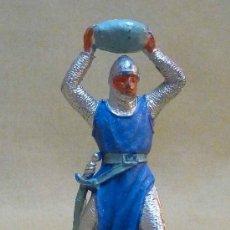 Figuras de Goma y PVC: FIGURA DE PLASTICO, MEDIEVAL, FABRICADO POR JECSAN, 1970S. Lote 23946036