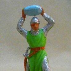 Figuras de Goma y PVC: FIGURA DE PLASTICO, MEDIEVAL, FABRICADO POR JECSAN, 1970S. Lote 23946051
