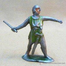 Figuras de Goma y PVC: FIGURA DE PLASTICO, MEDIEVAL, FABRICADO POR JECSAN, 1970S. Lote 23946065
