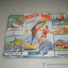 Figuras de Goma y PVC: MONTA-MAN. Lote 25533062