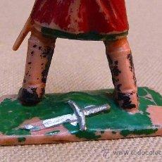 Figuras de Goma y PVC: FIGURA DE PLASTICO, FABRICADO PÒR REAMSA, EL CID, SOLDADO MEDIEVAL 1960S. Lote 24215710