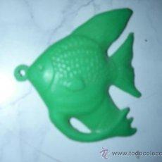Figuras de Goma y PVC: COLGANTE DE PLASTICO PEZ - ENVIO GRATIS A ESPAÑA. Lote 24600624