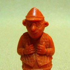 Figuras de Goma y PVC: PREMIUM, LUCKY LUKE DARGAUD, DUNKIN, RARO, PERIODISTA. Lote 24765137