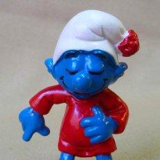 Figuras de Goma y PVC: FIGURA PVC PITUFO, THE SMURFS. Lote 25223820