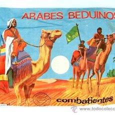 Figuras de Goma y PVC: SOBRE MONTAPLEX Nº 102 ARABES BEDUINOS - SOBRE CERRADO - HOOBY PLAST. Lote 176233618