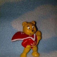 Figuras de Goma y PVC Schleich: FIGURA PVC O GOMA DURA SCHLEICH PETALCRAFT SUPER OSO. Lote 25459092