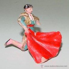 Figuras de Goma y PVC: ANTIGUA FIGURA DE TORERO - TEXIDIDO - FIESTA DE TOROS - TAL COMO SE VE EN LA FOTOGRAFIA - TAL COMO S. Lote 25653629