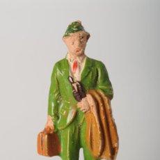 Figuras de Goma y PVC: FIGURA FERROVIARIA DE PECH, GOMA, AÑOS 60. Lote 25907632
