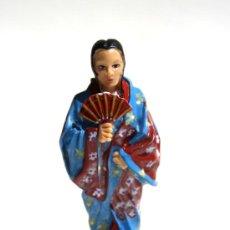 Figuras de Goma y PVC: GEYSA,CON QUIMONO Y ABANICO,REF.78. Lote 26261711