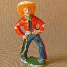 Figuras de Goma y PVC: FIGURA FRANCIA VAQUERO COW BOY, . Lote 26369706