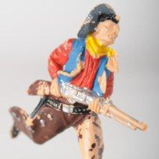 Figuras de Goma y PVC: FIGURA DE PLASTICO, VAQUERO Nº 65 DE REAMSA, AÑO 1960. Lote 26466808