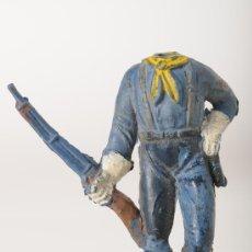 Figuras de Goma y PVC: FIGURA DE GOMA, SOLDADO YANKEE, SERIE DESCABEZADOS, JECSAN, AÑOS 50. Lote 26491588