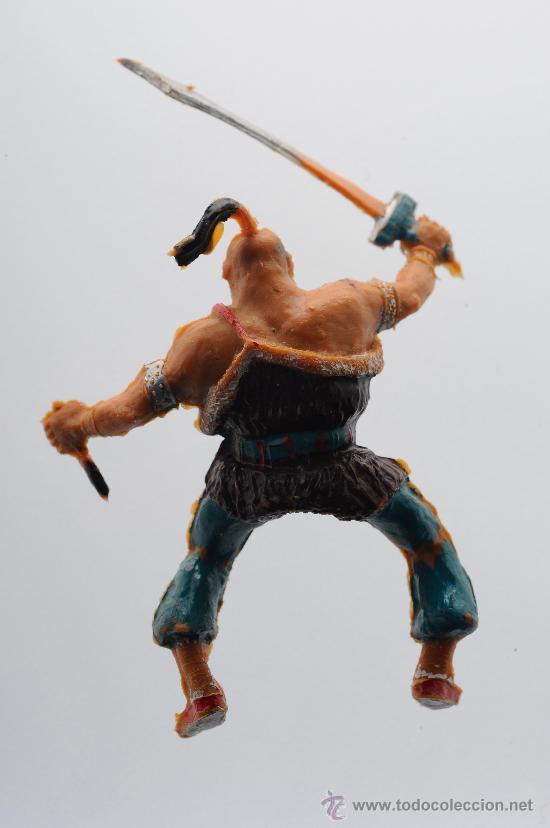 Figuras de Goma y PVC: Figura de plastico, estereoplast, serie cosaco verde. - Foto 2 - 26512461