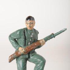 Figuras de Goma y PVC: SOLDADO GUARDIA CIVIL, GOMA, DE BRUVER, AÑOS 50. Lote 26523552
