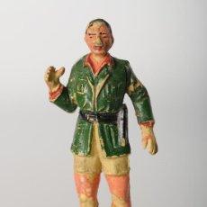 Figuras de Goma y PVC: FIGURA EN GOMA, EXPLORADOR, DE JECSAN, AÑOS 60. Lote 26547144