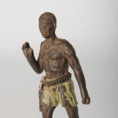 Figuras de Goma y PVC: NEGRO DE JECSAN, FABRICADO EN GOMA.. Lote 26547359
