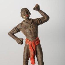 Figuras de Goma y PVC: NEGRO DE JECSAN, FABRICADO EN GOMA.. Lote 26547370
