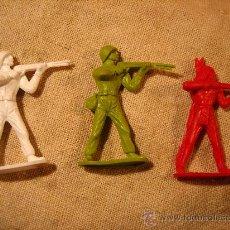 Figuras de Goma y PVC: 3 FIGURAS COMANSI. AÑOS 70. Lote 26551234