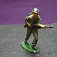 Figuras de Goma y PVC: JECSAN. SOLDADO AMERICANO. GOMA. GUERRA MUNDIAL. Lote 26617747