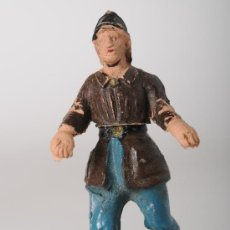 Figuras de Borracha e PVC: FIGURA DE BOMBERO DESMONTABLE EN GOMA. Lote 26815850