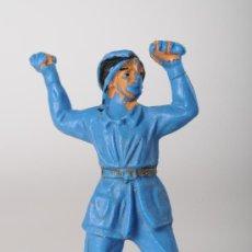Figuras de Goma y PVC: FIGURA DE BOMBERO EN PLÁSTICO. Lote 26816061