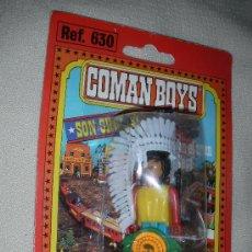 Figuras de Goma y PVC: ANTIGUO BLISTER COMAN BOYS DE COMANSI EN SU BLISTER REF.630. Lote 26827131