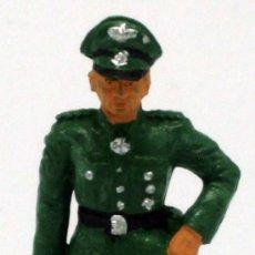 Figuras de Borracha e PVC: OFICIAL ALEMÁN STARLUX 2ª SEGUNDA GUERRA MUNDIAL AÑOS 70 PLÁSTICO. Lote 57205158