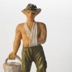 Figuras de Goma y PVC: FIGURA DE GOMA, JECSAN, PRISIONEROS DEL PUENTE SOBRE EL RIO KWAI, ORIGINAL AÑOS 50. Lote 26978681