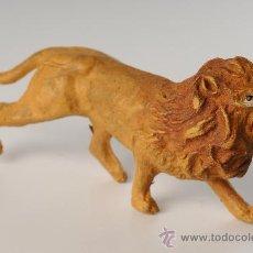 Figuras de Goma y PVC: LEÓN EN GOMA, PECH, REAMSA, JECSAN, AÑOS 50. Lote 26995838