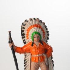 Figuras de Goma y PVC: FIGURA INDIO DE COMANSI. Lote 27018256
