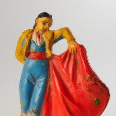 Figuras de Goma y PVC: FIGURA TORERO EN GOMA, JECSAN, PECH, REAMSA, ETC.. Lote 27068130