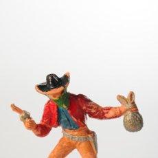 Figuras de Goma y PVC: FIGURA DE PLÁSTICO, VAQUERO, PRIMERA ÉPOCA, DE COMANSI. Lote 27148314
